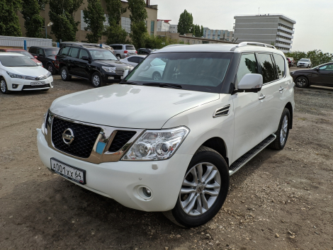 Nissan Patrol 5.6 4WD AT (405 л.с.)